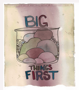 big things first - productivity