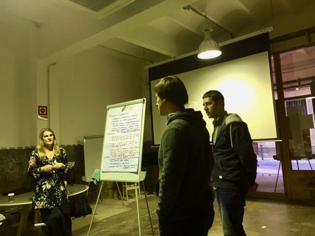 idibu Team Workshop 2016 in Barcelona